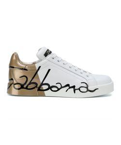 Dolce & Gabbana | Кроссовки На Платформе С Логотипом