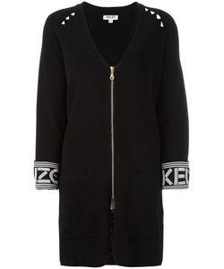 Kenzo | V-Neck Cardi-Coat Medium Cotton