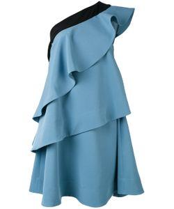 Miahatami | One Shoulder Ruffle Dress