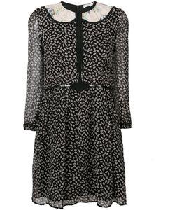 COACH | Полупрозрачное Платье С Принтом Уток