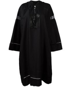 Veronique Branquinho | Hooded Kaftan Dress 40 Cotton