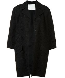 Adam Lippes | Three-Quarter Sleeve Coat Small Cotton