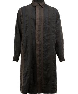 UMA WANG | Button Up Coat Large Linen/Flax/Polyester