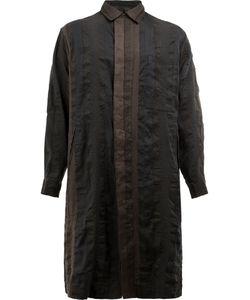 UMA WANG | Button Up Coat Large Linen/Flax/Polyester