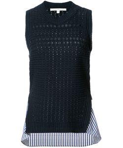 Veronica Beard | Mermaid Shirt Trim Top Size Small