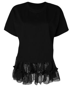 MM6 by Maison Margiela | Tulle Hem T-Shirt Women