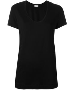 By Malene Birger | Fevia T-Shirt Large Viscose/Spandex/Elastane