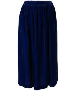 COMME DES GARCONS COMME DES GARCONS | Comme Des Garçons Comme Des Garçons Velvet Full Skirt Size