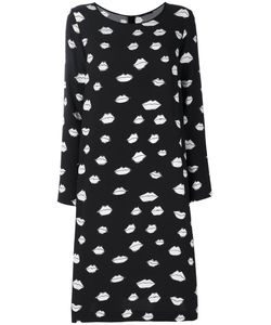 Odeeh   Kiss Print Dress