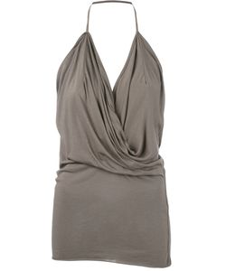 Rick Owens Lilies | Draped Halter Top