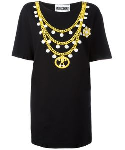 Moschino | Chain Print T-Shirt Dress
