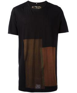 ZIGGY CHEN | Colour Block T-Shirt Size Small