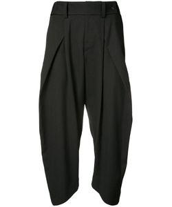 Issey Miyake | Rib Detail Cropped Trousers