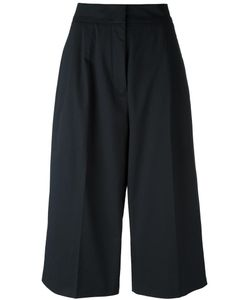 Jil Sander | Wide-Legged Cropped Trousers 32 Viscose/Cotton/Spandex/Elastane