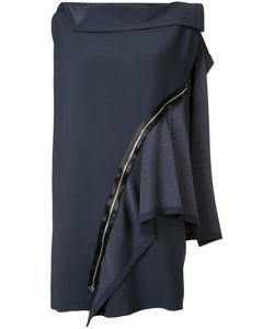 Issey Miyake | Flat Combination Zip Dress