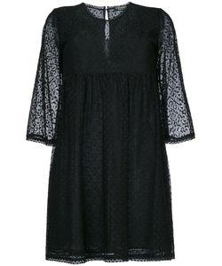Twin-set | Короткое Платье С Геометрическим Узором