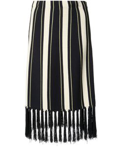 Grey Jason Wu | Striped Skirt Size Xs