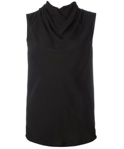 Rick Owens | Draped Collar Top 40 Viscose/Acetate