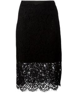 Diane Von Furstenberg | Sheer Lace Pencil Skirt 8