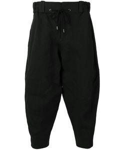DEVOA | Cropped Trousers 3 Polyester/Japanese Paper