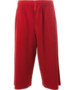 HOMME PLISSE ISSEY MIYAKE | Homme Plissé Issey Miyake Pleated Cropped Trousers 2 Polyester