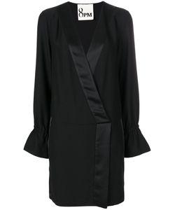 8pm | Платье С V-Образным Вырезом И Сборками