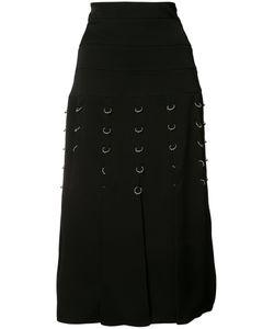 Prabal Gurung | Pierced Pleated Skirt