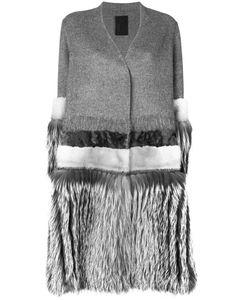 Liska | Fur Panell Coat