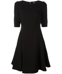 Dolce & Gabbana | Fla Dress 46 Spandex/Elastane/Wool