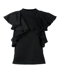 FACETASM   Ruffled T-Shirt 0