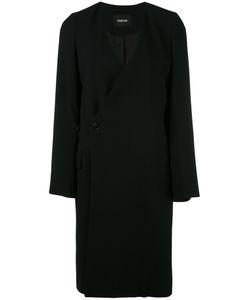 Zucca | Пальто С Глубоким V-Образным Вырезом