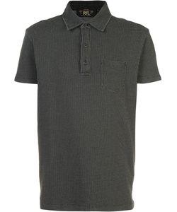 RRL | Dots Print Polo Shirt Size Large