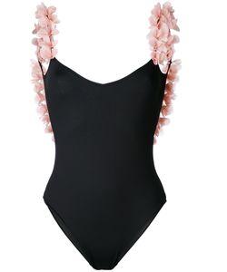 LA REVECHE | Petals Applique Swimsuit