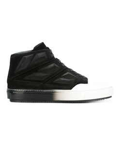 Alejandro Ingelmo | Colour Block Hi-Tops 45 Leather/Calf Suede/Rubber/Lacquer