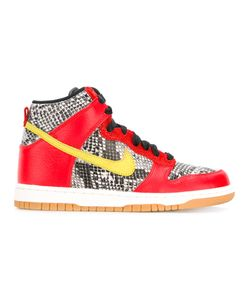 Nike | Dunk Hi Lx Sneakers 9 Leather/Nylon/Rubber