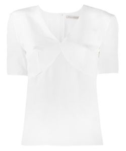 Emilia Wickstead | Short-Sleeved Blouse 10 Silk