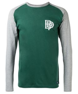 Bleu De Paname | Contrast Long Sleeve T-Shirt Size Medium