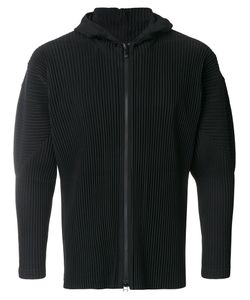 HOMME PLISSE ISSEY MIYAKE | Pleated Hooded Jacket Men