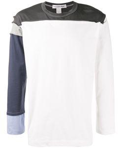 Comme Des Garcons | Comme Des Garçons Shirt Panel Long Sleeve T-Shirt Size Small