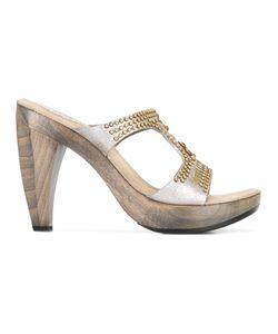 CALLEEN CORDERO | Stud Embellished Block Heel Sandals 8