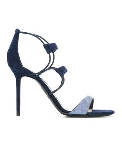 Christian Dior | Strappy Sandals 38.5 Goat Skin/Leather/Suede