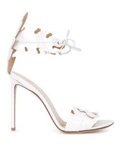 FRANCESCO RUSSO | Ankle Strap Sandals 36 Patent Leather/Leather