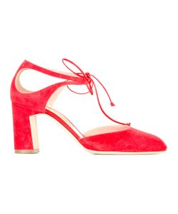 Rupert Sanderson | Clarissa Pumps 37 Suede/Leather