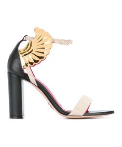 Oscar Tiye | Malikah Sandals 36.5 Leather/Nappa Leather/Cotton