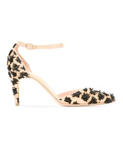 Rupert Sanderson | Calleen Pumps 37 Polyester/Straw/Leather