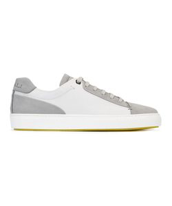 Canali   Colour Block Sneakers 40.5 Leather/Rubber