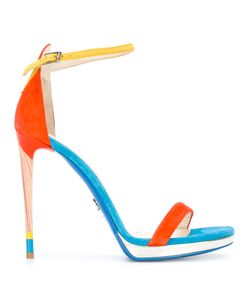 Loriblu | Two Strap Heeled Sandals Size 37