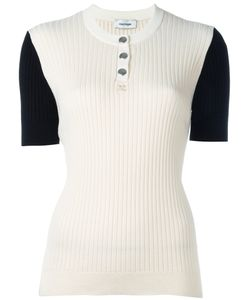 Courreges | Courrèges Ribbed Knit T-Shirt Size 3