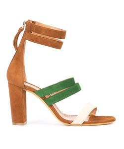 Alexa Wagner | Betsy Sandals 37 Suede/Leather