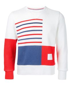 Thom Browne | Stripe And Square Sweater Size 2